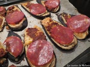 Bruschette d'aubergine
