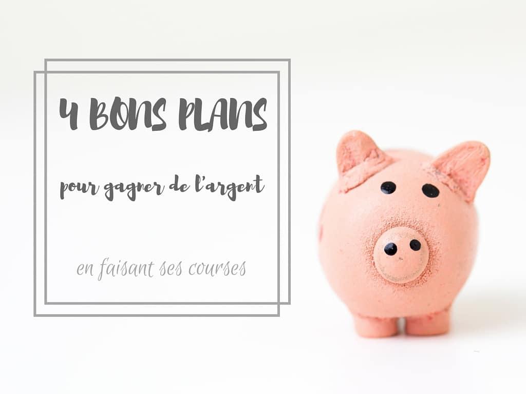 4 bons plans pour gagner de l'argent en faisant ses courses