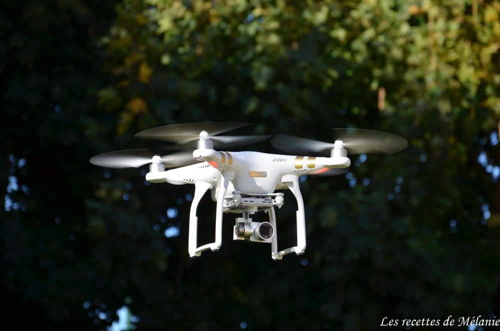 Mon matériel: drone dji