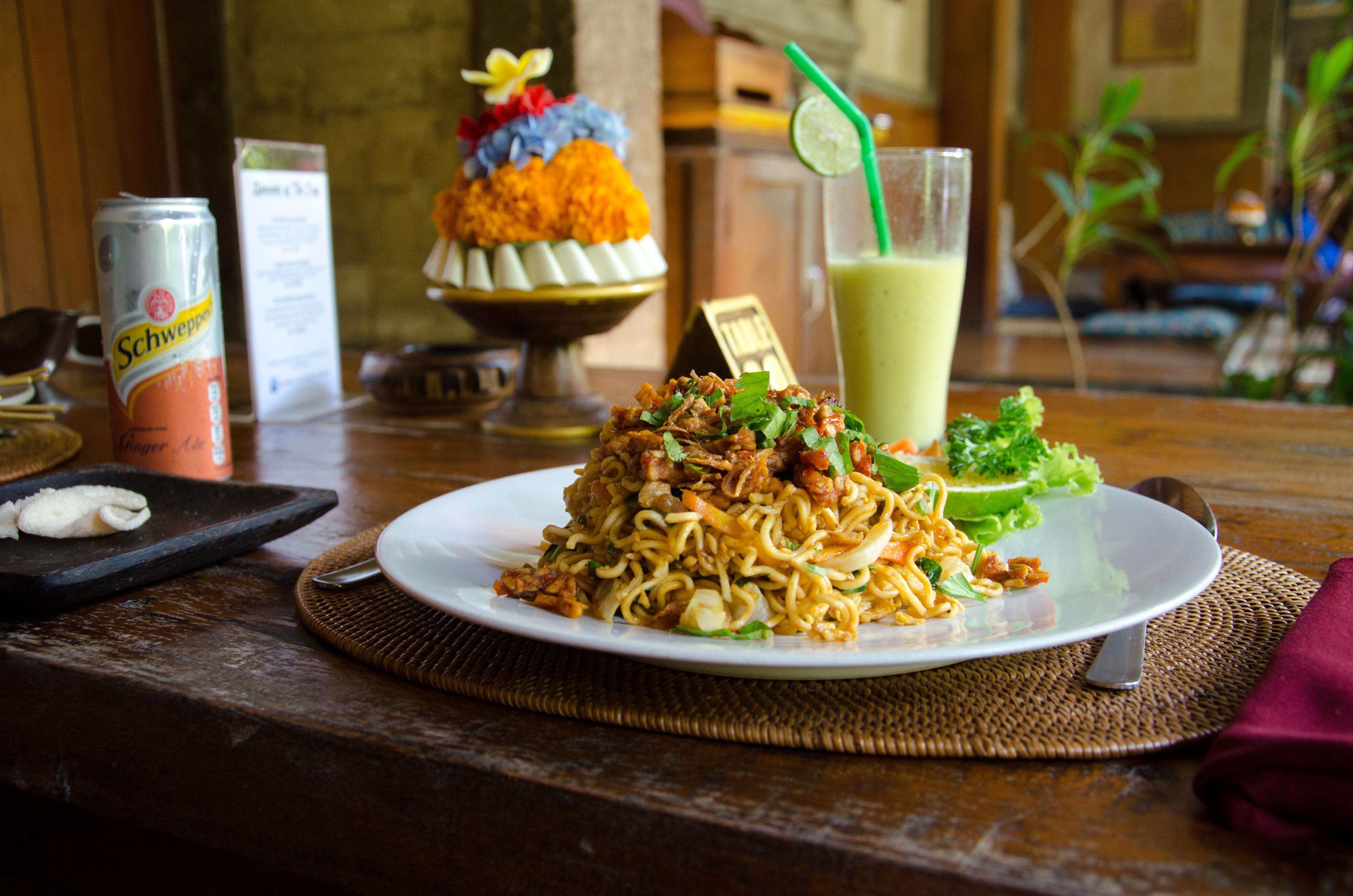 Deux semaines à Bali nourriture