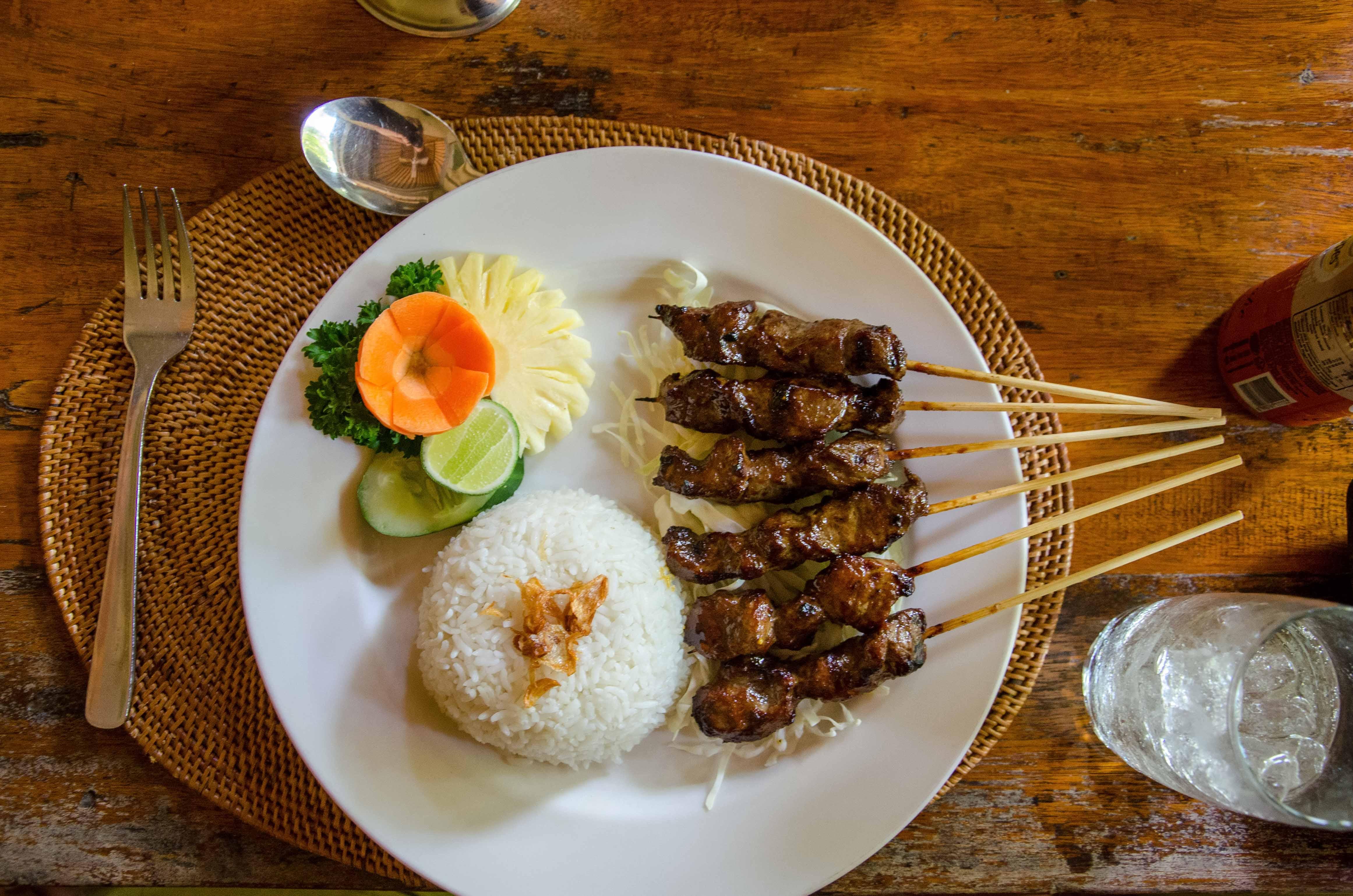 Ubud restaurant