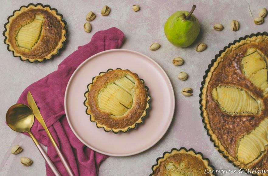 061b96483ed Tarte poire et pistache - Les recettes de Mélanie