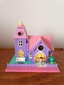 Polly Pocket chapelle lumineuse