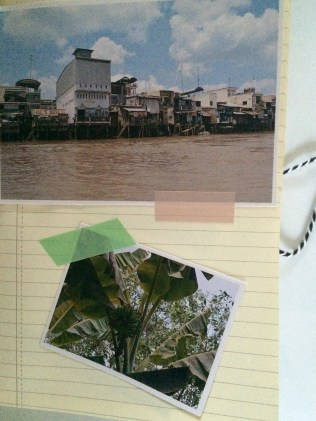 Cahier voyage homemade