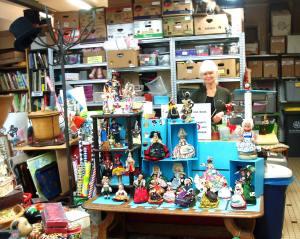 Rayon poupées de collection