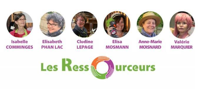 Les 6 membres des Ressourceurs