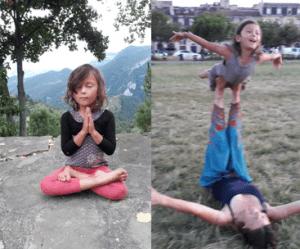 Les bienfaits du yoga pour les enfants