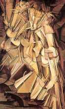 """Marcel DUCHAMP, """"Nu descendant l'escalier"""", 1912"""