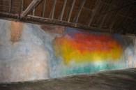 oeuvre de Flora Moscovici, dans la chapelle de la Trinité
