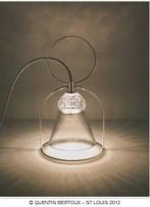 Cristallerie Saint Louis (groupe Hermès) collection Apollo, Stefania di Petrillo ; photo© Quentin Bertoux St Louis 2012