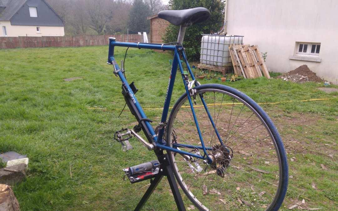 Modernisation d'un vélo Gitane, partie 3 : le démontage