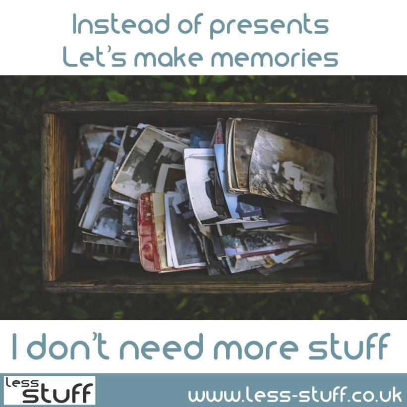 memories-not-presents