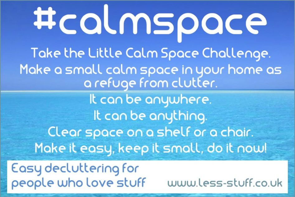 little calm space challenge