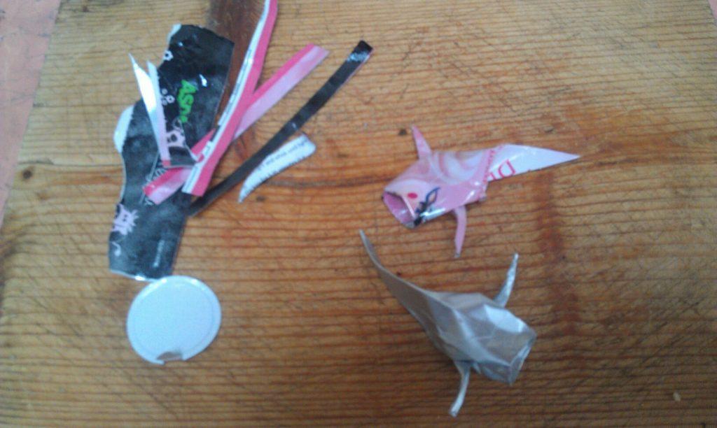 2012 zero waste origami
