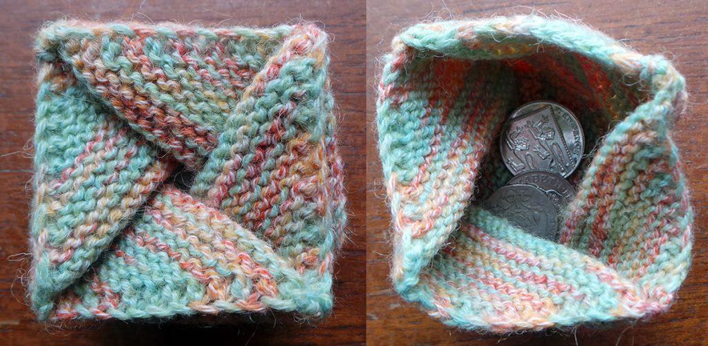 pinwheel purse