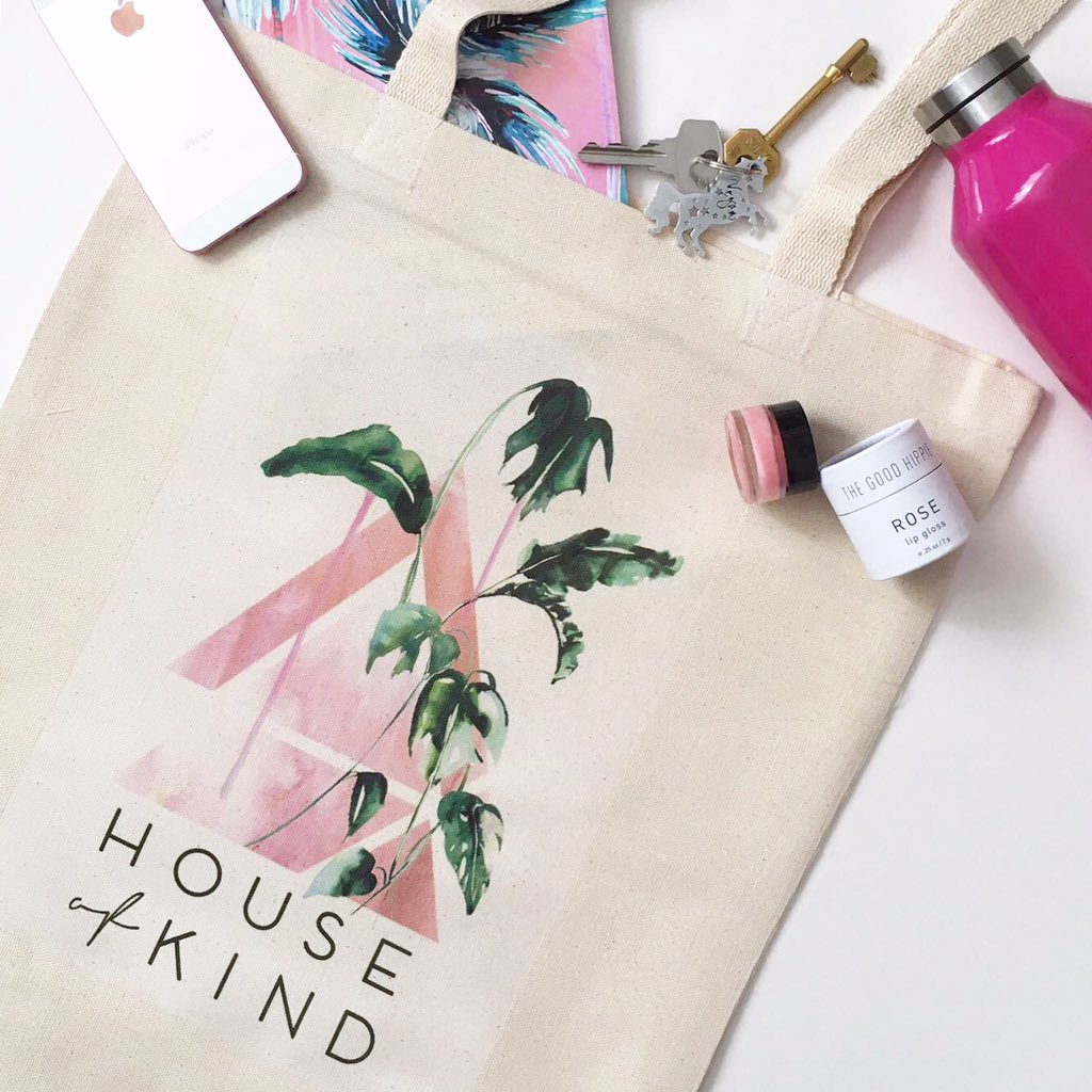 House of kind tote bags