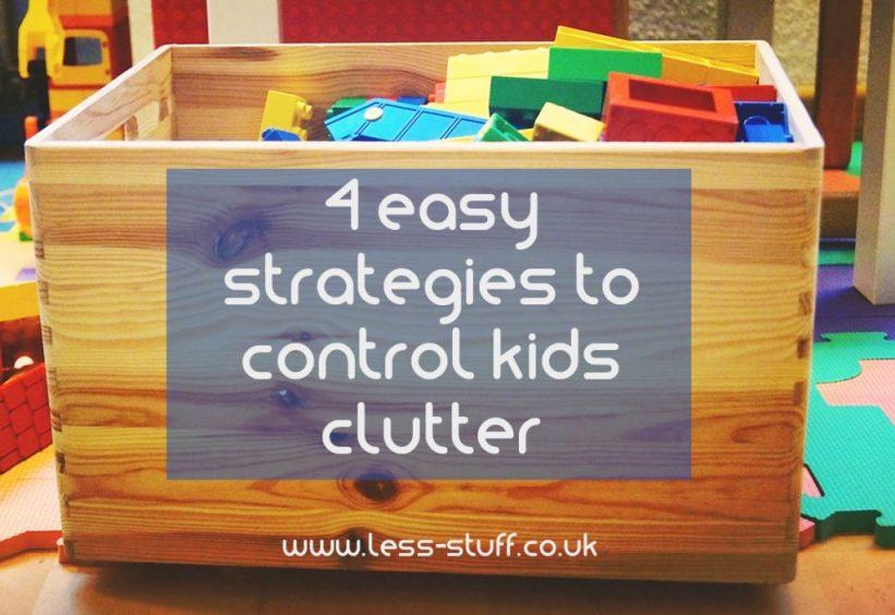 control kids clutter