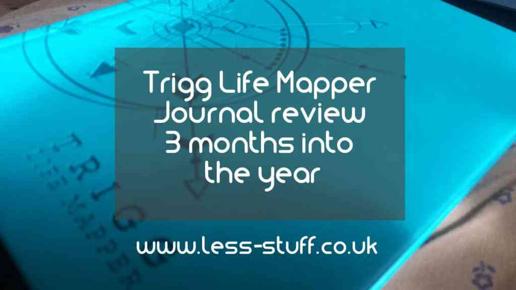 Trigg Life Mapper – Journal review 3 months into the year