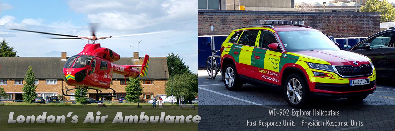 London's Air Ambulance Images