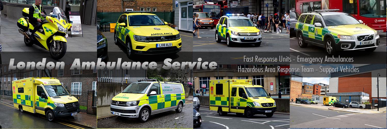 London Ambulance Service Images