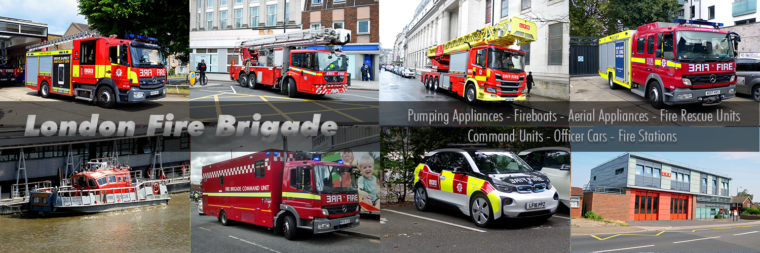 London Fire Brigade Images