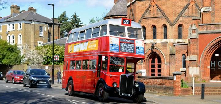 London Bus Preservation Trust AEC Regent III EYK 396-RT1