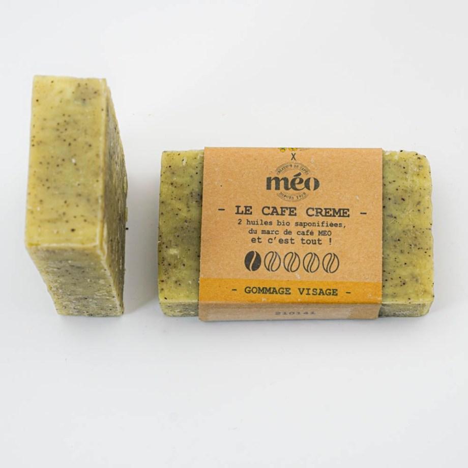 Gommage visage ou peaux sensibles - Exfoliant - Savon solide saponifié à froid, surgras, naturel et bio, zéro déchet