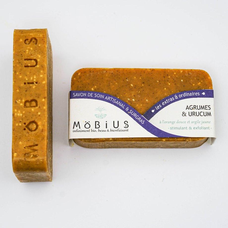Mobius -Savon à froid - Agrume et Urucum