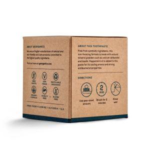 dentifrice box