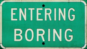 Entering Boring, OR