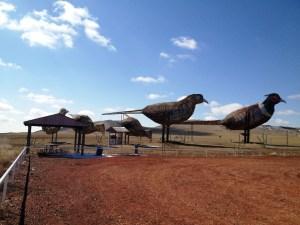 Enchanted Highway Stop #5 - Pheasants on the Prairie