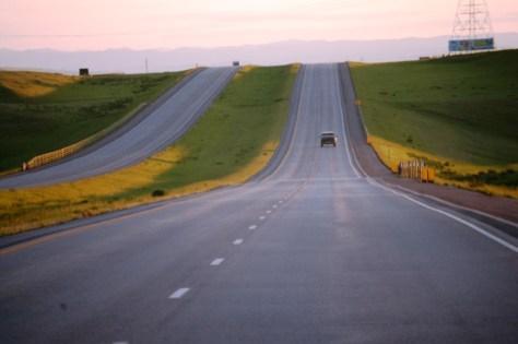 Heading West towards Wyoming on I-90