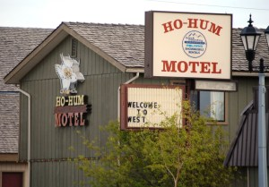 Ho-Hum Motel - West Yellowstone