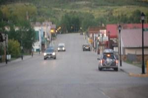 Downtown Oak Creek Colorado