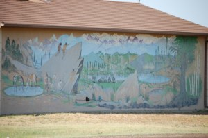Mural in Fourway, Texas