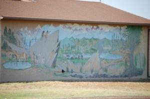 Mural in Fourway, Texas