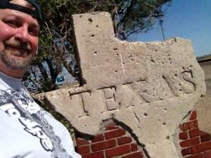 Sumoflam at Texas Border in Texline, Texas