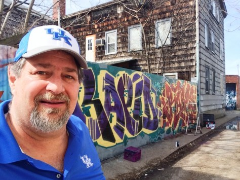 Sumoflam at Northside graffiti walls