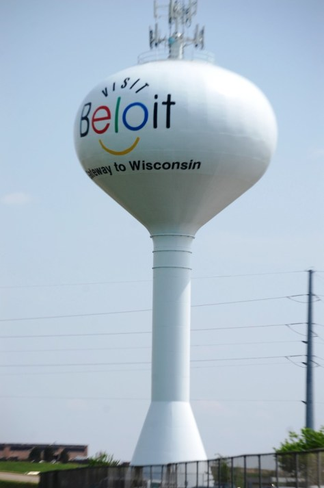Beloit, WI Smiley Water Tower
