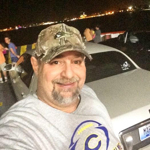 Riding the Ferry into Galveston