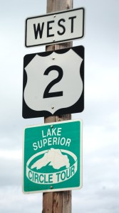 US Route 2 and Lake Superior Circle Tour beginning in Ironwood, MI