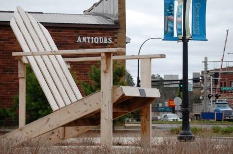 Paul Bunyan Big Chair in Grand Rapids, Minnesota