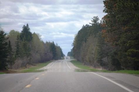 "US Route 2 east of Bena, MN near ""Big Winnie"""