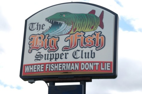 Big Fish Supper Club, Bena, MN