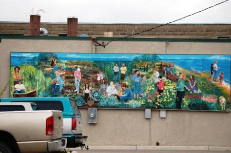 Wall Mural in Bemidji, MN