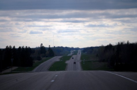 US Route 2 east of McIntosh, MN