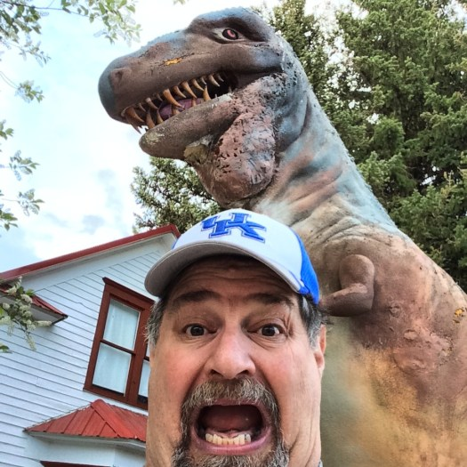 The Old Trail Museum in Choteau Museum has scary dinosaurs
