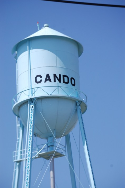 Cando Water Tower