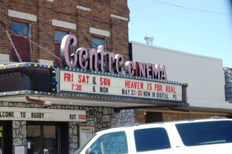 Centre Cinema in Rugby, ND