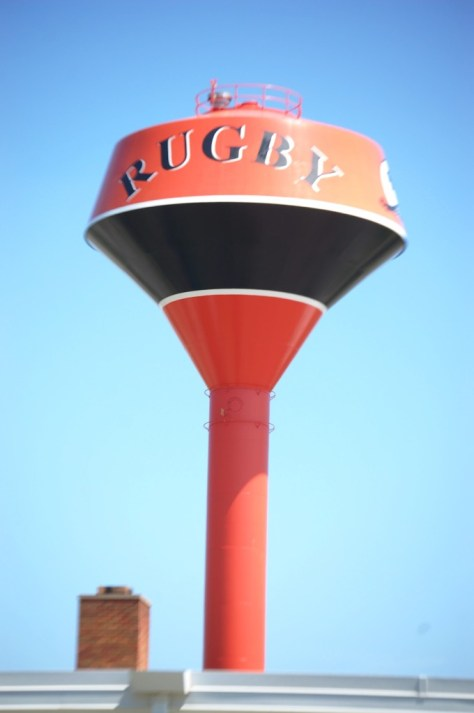 Unique Water Tower in Rugby, ND